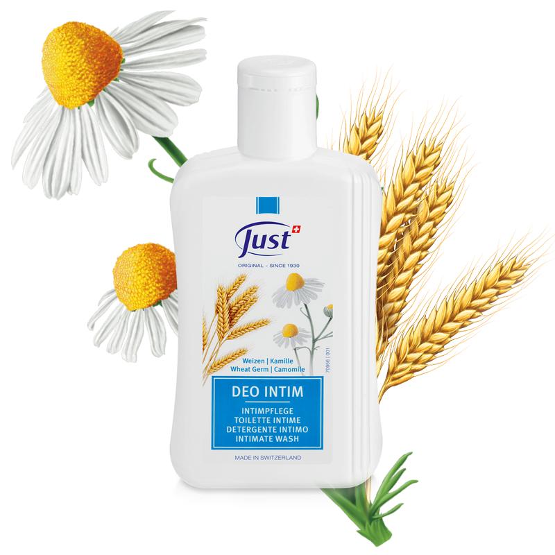 Weizen - Kamille Deo Intim - Duschen - Just - Naturprodukte