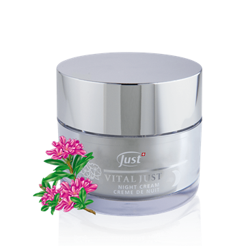 VITAL JUST Night Cream Alpenrose